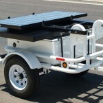 Fast-3350 speed radar trailer