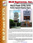RU2 Fast-275 375 Pole Mount Display