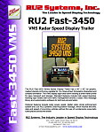RU2 Fast-3450 VMS Speed Display Trailer