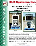 RU2 Fast-525 550 Radar Speed Skid