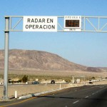 Fast-360-Overhead speed radar display Mexico